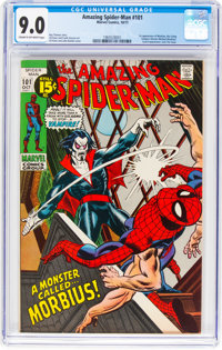 The Amazing Spider-Man #101 (Marvel, 1971) CGC VF/NM 9.0 Cream to off-white pages