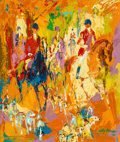 Fine Art - Painting, American, LeRoy Neiman (American, 1921-2012). Autumn Hunt, 1970. Oilon board. 28-1/4 x 23-3/4 inches (71.8 x 60.3 cm). Signed and...