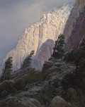 Fine Art - Painting, American, Wilson Hurley (American, 1924-2008). On La Luz Trail, 1999.Oil on canvas laid on panel. 45 x 36 inches (114.3 x 91.4 cm...