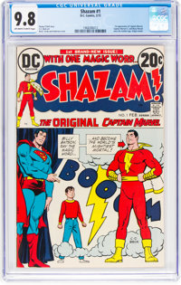 Shazam! #1 (DC, 1973) CGC NM/MT 9.8 Off-white to white pages