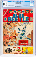 Silver Age (1956-1969):Superhero, Blue Beetle #1 (Charlton, 1967) CGC VF 8.0 Cream to off-whitepages....