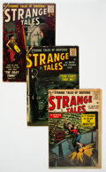 Silver Age (1956-1969):Science Fiction, Strange Tales #51-54 Group (Atlas, 1956-57) Condition: AverageVG.... (Total: 4 Comic Books)