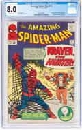 Silver Age (1956-1969):Superhero, The Amazing Spider-Man #15 (Marvel, 1964) CGC VF 8.0 Off-whitepages....