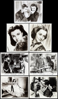 """Movie Posters:Academy Award Winners, Gone with the Wind (MGM, R-1974/R-1961). Fine/Very Fine. Photos (7) (8"""" X 10"""") & Color Photos (3) (8"""" X 10""""). Academy Award ... (Total: 10 Items)"""