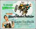 """Movie Posters:Comedy, The Absent-Minded Professor & Other Lot (Buena Vista, R-1974). Rolled, Very Fine. Half Sheets (2) (22"""" X 28"""") Paul Wenzel Ar... (Total: 2 Items)"""