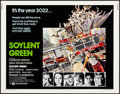 "Movie Posters:Science Fiction, Soylent Green (MGM, 1973). Rolled, Very Fine. Half Sheet (22"" X 28""). John Solie Artwork. Science Fiction.. ..."