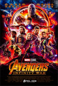 """Movie Posters:Action, Avengers: Infinity War (Walt Disney Pictures, 2018). Rolled, Very Fine+. One Sheet (27"""" X 40"""") DS Advance. Action.. ..."""