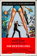 """Movie Posters:James Bond, For Your Eyes Only (United Artists, 1981). Folded, Fine/Very Fine. International One Sheet (27"""" X 41"""") Brian Bysouth Artwork..."""
