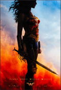 """Movie Posters:Action, Wonder Woman (Warner Brothers, 2017). Rolled, Very Fine/Near Mint. One Sheet (27"""" X 40"""") DS, Advance, Standing Style. Action..."""