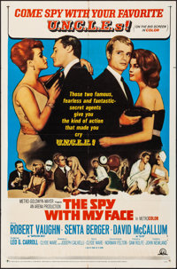 """The Spy with My Face & Other Lot (MGM, 1965). Folded, Overall: Fine/Very Fine. One Sheets (2) (27"""" X 41"""")..."""