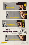 """Movie Posters:Western, The Hanging Tree & Other Lot (Warner Brothers, 1959). Folded, Very Fine-. One Sheets (2) (27"""" X 41""""). Western.. ... (Total: 2 Items)"""