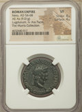 Ancients:Roman Imperial, Ancients: Nero (AD 54-68). AE as (27mm, 9.01 gm, 6h). NGC VF 4/5 - 4/5....
