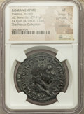 Ancients:Roman Imperial, Ancients: Vitellius (AD 69). AE sestertius (36mm, 29.41 gm, 6h).NGC VF 5/5 - 1/5, smoothing....