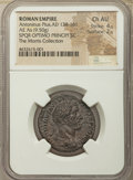 Ancients:Roman Imperial, Ancients: Antoninus Pius (AD 138-161). AE as (27mm, 9.50 gm, 1h). NGC Choice AU 4/5 - 2/5....