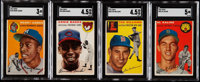 1954 Topps Baseball Partial Set (202/250)
