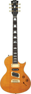 Musical Instruments:Electric Guitars, 1994 Gibson Nighthawk Amber Solid Body Electric Guitar, Serial # 94023625....