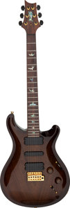 Musical Instruments:Electric Guitars, 2010 Paul Reed Smith (PRS) 513 Antique Natural Smoked Burst Solid Body Electric Guitar, Serial # 10 161712....