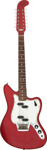 Musical Instruments:Electric Guitars, Circa 1965/1966 Fender Electric XII Candy Apple Red Solid Body Electric Guitar, Serial # 115006.. ...