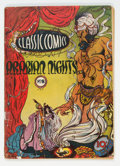 Golden Age (1938-1955):Classics Illustrated, Classic Comics #8 Arabian Nights - First Edition (Gilberton, 1943) Condition: GD....