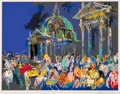 Prints & Multiples:Print, LeRoy Neiman (1921-2012). Piazza de Popolo, 1988. Serigraph in colors on paper. 33 x 41 inches (83.8 x 104.1 cm) (sheet)...