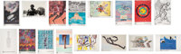 1984 Los Angeles Summer Olympics Limited Edition Artist-Signed Poster Set of 15