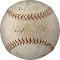 Baseball Collectibles:Balls, 1922 Babe Ruth Signed Baseball....