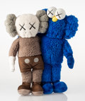 Collectible:Contemporary, KAWS (b. 1974). Seeing/Watching, 2018. Plush toy. 15-1/2 x 12 x 3-1/2 inches (39.4 x 30.5 x 8.9 cm). No. 59. Incised on ...