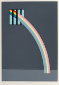 Fine Art - Work on Paper:Print, Patrick Hughes (b.1939). Inside Out, 1981. Screenprint incolors on wove paper. 21-1/2 x 15 inches (54.6 x 38.1 cm) (sig...
