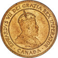 Canada, Edward VII Cent 1906 MS65 Red PCGS, London mint, K...
