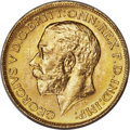 Canada: George V gold Sovereign 1914-C MS64+ PCGS