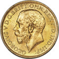 Canada: George V gold Sovereign 1917-C MS64 PCGS