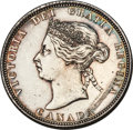 Canada, Victoria 25 Cents 1871  Genuine (Cleaning) PCGS,...