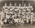 Autographs:Photos, 1949 Union City Greyhounds Team Signed Photograph with Manager Rudy York....