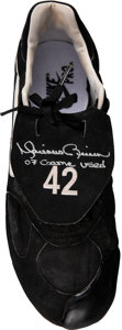 Baseball Collectibles:Others, 2007 Mariano Rivera Game Worn & Signed Cleat.....