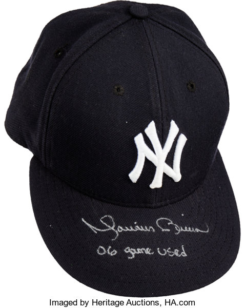 587cd4241369a 2006 Mariano Rivera Game Worn Signed New York Yankees Cap....