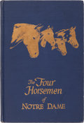 Autographs:Others, 1959 The Four Horsemen of Notre Dame Signed Book with Extras....