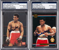 Boxing Cards:General, 1991 Muhammad Ali Signed Cards Lot of 2. ...