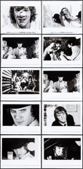 """Movie Posters:Science Fiction, A Clockwork Orange (Warner Brothers, 1971). Very Fine-. Canadian Photos (10) (8"""" X 10""""). Science Fiction.. ... (Total: 10 Items)"""