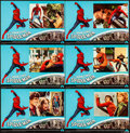 """Movie Posters:Action, Spider-Man (Columbia, 1977). Folded, Very Fine-. Italian Photobusta Set of 10 (26.25"""" X 18"""") with Original Studio Envelope. ... (Total: 10 Items)"""