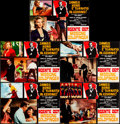 "Movie Posters:James Bond, Goldfinger (United Artists, R-1970s). Folded, Very Fine-. Italian Photobusta Set of 5 (26.25"" X 18"") with Original Studio En... (Total: 6 Items)"