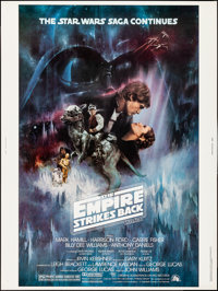 "The Empire Strikes Back (20th Century Fox, 1980). Rolled, Very Fine+. Poster (30"" X 40"") Roger Kastel Artwork..."