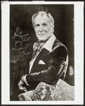 "Movie Posters:Horror, Vincent Price (1980s). Very Fine-. Autographed Convention Photo (8"" X 10""). Horror.. ..."