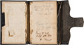 Military & Patriotic:Civil War, Civil War Diary of George W. Ball, Company D., 4th Vermont Volunteer Infantry, for 1863....