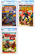 Bronze Age (1970-1979):Western, Marvel Bronze Age CGC-Graded Western Group of 3 (Marvel, 1972-74).... (Total: 3 Comic Books)