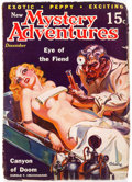 Pulps:Horror, New Mystery Adventures - December 1935 (Pierre Publications)Condition: GD/VG....