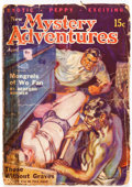 Pulps:Horror, New Mystery Adventures - April 1936 (Pierre Publications)Condition: FR....