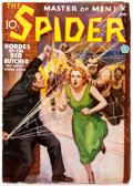Pulps:Hero, The Spider - June 1935 (Popular) Condition: VG/FN....