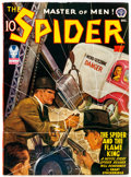 Pulps:Hero, The Spider - December 1942 (Popular) Condition: FN....