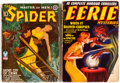 Pulps:Miscellaneous, The Spider/Eerie Mysteries Group of 2 (Various, 1938-43).... (Total: 2 Items)