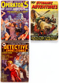 Pulps:Adventure, Assorted Adventure Pulps Group of 3 (Various, 1935-38) Condition: Average GD.... (Total: 3 Items)